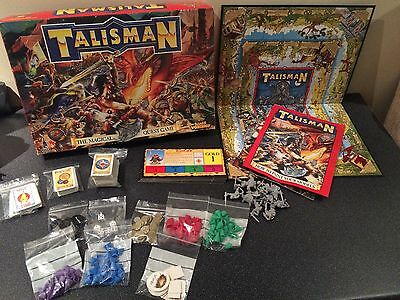 Talisman Board Game Games Workshop Rare Collecters Citadel Figures 3rd Edition