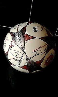 Manchester United Hand Signed Football With Coa