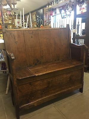 Old Church Pew / Monks Bench
