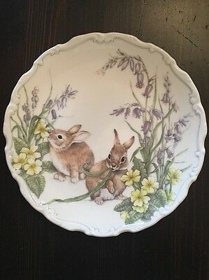Royal Albert Plate Spring Capers Country Walk Collection China