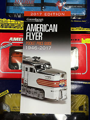 (No 2018 Editions Made) 2017 Price Guide, Mint Greenberg's...american Flyer...a1