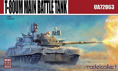 Modelcollect  UA72063 1/72 T-80UM1 Main Battle Tank