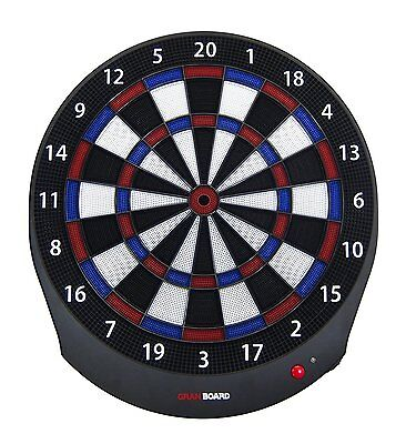Online play equipped GRAN BOARD dash Blue / Red Electronic Bluetooth Dartboard