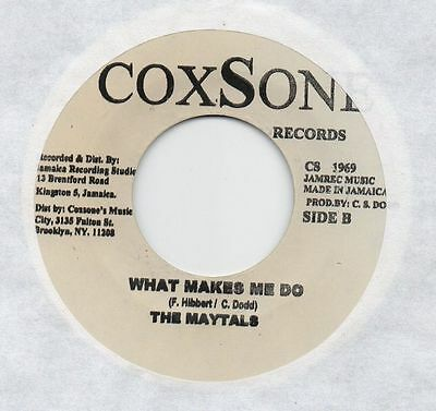 "❤ Soul Vendors - Musical Happiness /  Maytals ❤   45rpm 7"" Vinyl"