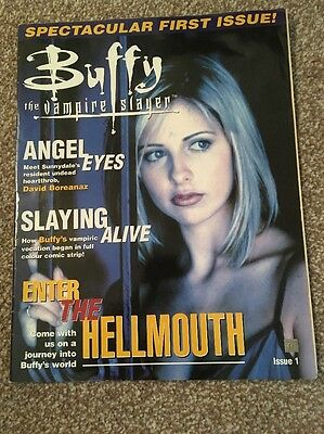 buffy the vampire slayer Magazine Issue One. Used And Been Stored For Years.
