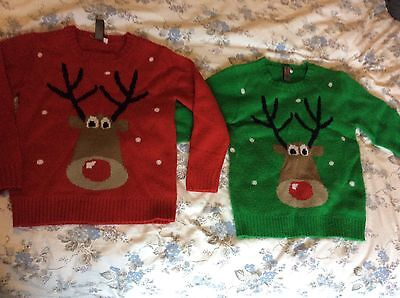 Kids Christmas Jumpers Age 7-8