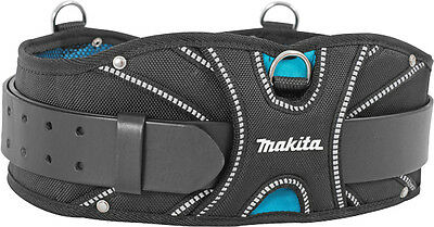 makita blue collection super heavyweight padded leather tool belt pouch holder