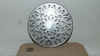 """6""""  Eales 1779 Trvet Silver Tone Over Glass Made In Italy"""