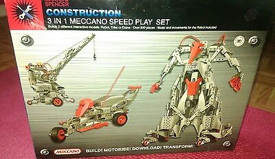 Children's or adults Meccano speed play set. Brand new! (worth £89)!