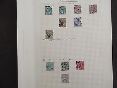 India - A Selection Of Used Stamps On Eleven Album Pages (2)