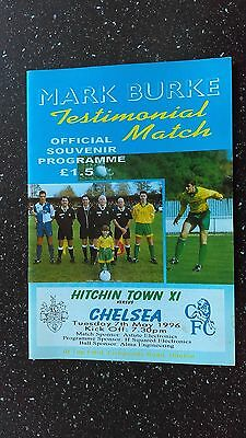 Hitchin Town Xi V Chelsea 1995-96