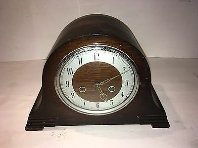 Antique/vintage Smiths Enfield 8 Day Msntel Clock