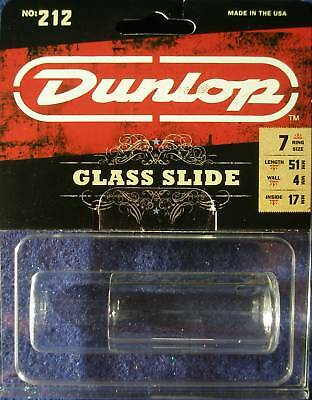 Dunlop Pyrex Small Short Glass Guitar Slide Model 212