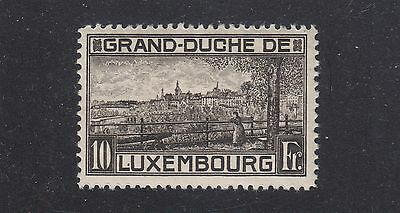 LUXEMBOURG #152 Mint Hinged 1923 Perf 11.5 VIEW OF LUXEMBOURG