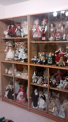 Giant collection of porcelain dolls