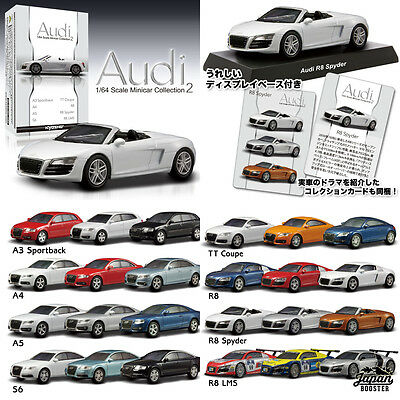 [KYOSHO 1/64] Audi 1 Box 20 Models (SEALED) Minicar Collection 2