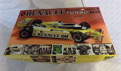 Renault Turbo RE23 by Protar 1:12 1/12 Model Scale Kit 170/P 170P