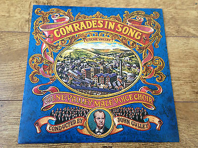 Colne Valley Male Voice Choir comrades in song UK LP john Gulley
