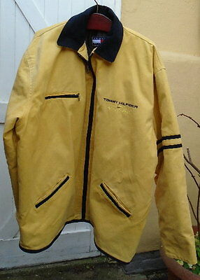 Men's  Vintage Tommy Hilfiger Sailing Gear Jacket / Coat  Size XL