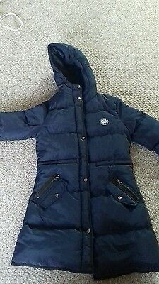 BNWOT Fab Navy Blue Girls Padded Coat from NEW LOOK - Age 14-15 Years