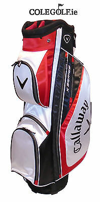 Callaway X Series Cart Golf Bag - Red/White/Black