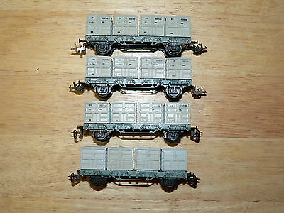 4  Bttb Duel Container /coal Load Wagons