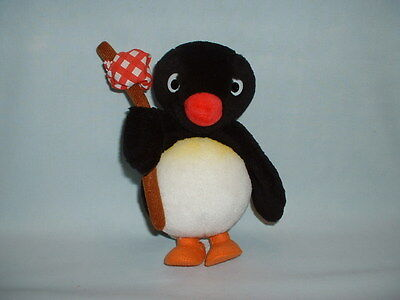 PINGU THE PENGUIN Cuddly Soft Plush Toy (& FRIENDS/TV SERIES/TELEVISION SHOW)
