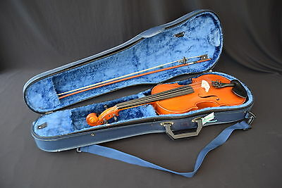 Berini 4/4 Violin with Bow and Tosin in Hard Case