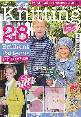 Woman's Weekly Knitting and Crochet Magazine - Issue April 2016