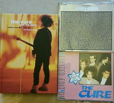 THE CURE Join The Dots B-sides & Rarities 4 disc set | PEEL SESSIONS | INTERVIEW