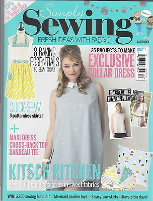 Simply Sewing Magazine Issue 20 2016