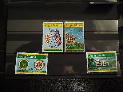 Iles vierges 1976 Neuf ** MNH Set complet