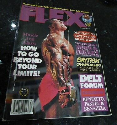 Flex Magazine Dec 1991 Many Others Available Discounts for Multiple Purchases!