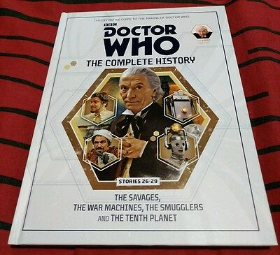 Doctor Who The Complete History Volume #8 Hardcover Used
