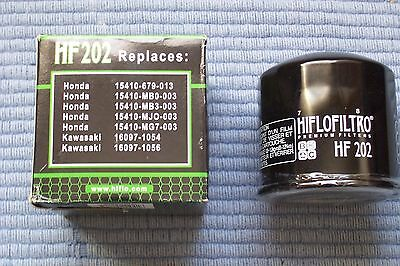 HiFlo Oil Filter HF202 equivalent to Filtrex OIF03 and Champion F302