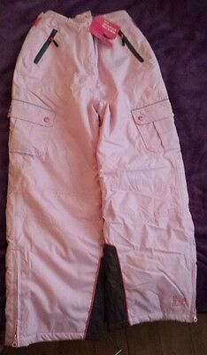 NEW Salopettes, Age 13-14, Marks & Spencer, Pink and Brown