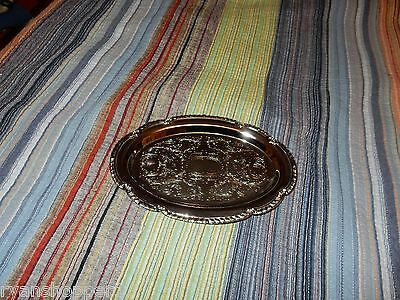 Vintage Irvinware Chrome Tray 9 1/4 In. x6 3/8 in. 1972 Made in USA