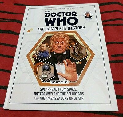 Doctor Who The Complete History Volume #15 Hardcover Used