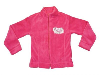 Neu! Disney Violetta Fleece Jacke Gr 122/128/134/140/146/152/158