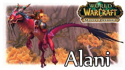 WOW Alani mount ✯ tonitruant ruby cloud serpent -- EU realm-Ally/horde side