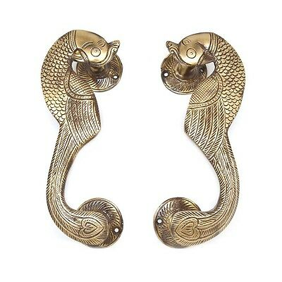 Designer Peacock Door Handle