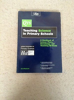 QTS - Teaching Science In Primary Schools