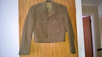 US ARMY OFFICERS 'IKE' JACKET. 1950's MILITARY