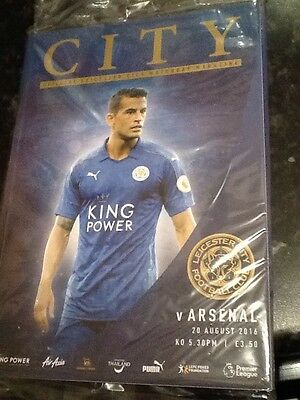LEICESTER CITY v ARSENAL 20/08/2016 THE PREMIER LEAGUE 2016/2017 PROGRAMME