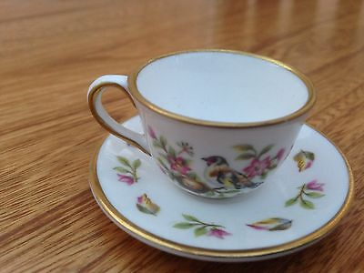 Miniature Vintage Spode Cup And Saucer