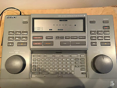 Sony Video Editing Controller RM-E300 -EXCELLENT CONDITION