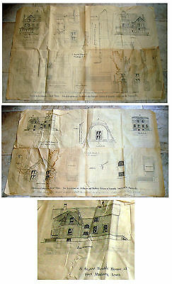 House Plans 1887 - House In Flushing, Ny & Madison, Wisconsin