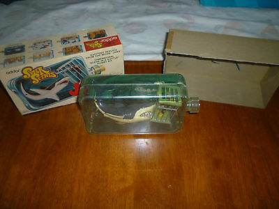 Vintage Super Scenes Jaws Model Kit (assembled) Complete in Box Movie Collectibl