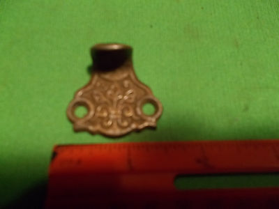 Vintage Antique Fancy Victorian Embossed File Drawer Sash Pull Handle