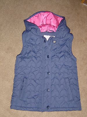 NEW! Navy Sleeveless Hooded Jacket Age 5-6 years by Young Dimensions
